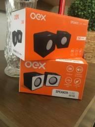 Caixa de som OEX Speaker Cube