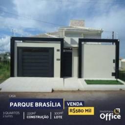 Casa  com 3 quartos - Bairro Parque Brasília em Anápolis