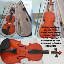 Violino muito novo