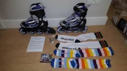 Roller Traxart Rolling Star Inline Patins 5 Us 36/37 Br