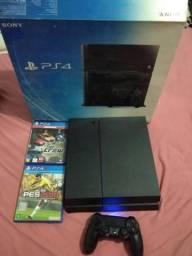 PS4 1 controle 2 jogo