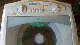 Aceito cartão lavadora Consul mare 7,5