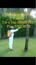 Dedetização -98805.7637 cel e WhatsApp(solicite seu orçamento)