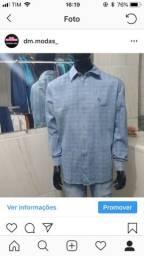 Camisas da reserva manga longa jeans tamanho 4 e 5 pra hoje $$65