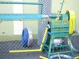 Máquina Para Fabricar Telas de Arame e Alambrados. modelo: Rodemaq