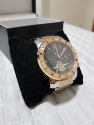 Relógio bvlgari hibrido automatico