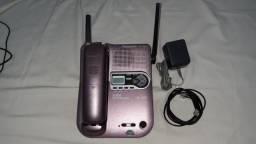 Telefone sem fio com secretária Panasonic