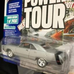 Miniatura Dodge Dart Swinger Prata Hot Rod Power Tour 1/64