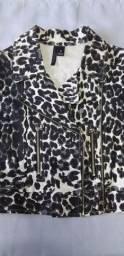 Jaqueta feminina estampada