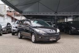 Peugeot 207 Sw XR S 1.4 flex, 2012, completo!
