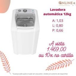 Lavadora automática 12 kgcolormaq branca, super promoção de natal ( fazemos entregas )