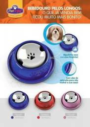 Bebedouro Para Cães Pelos Longos - Pet injet