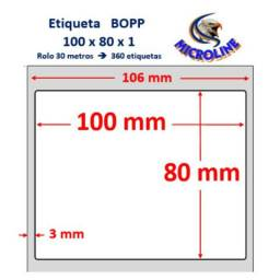 Etiqueta 100x80 bopp