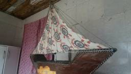 Barco estilo cesta de café da manhã