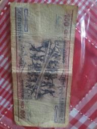 Dinheiro antigo notas
