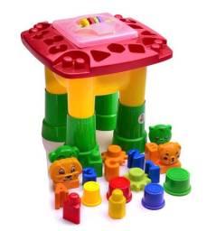 Mesa de Atividades Infantil Vermelha - Dismat