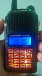 Radio Baofeng UV-6r ht lançamento produto novo na caixa entregamos em Poa-rs
