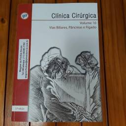 Livro Clinica Cirurgica, Vol. 10 - Vias Biliares, Pâncreas e Fígado 13ª Edição