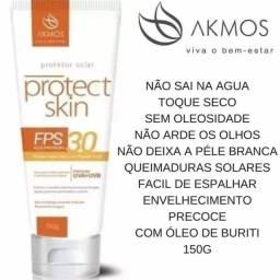 Protetor solar Akmos