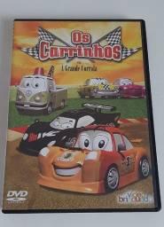 Dvd Os Carrinhos