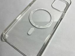 Título do anúncio: Case magsafe transparente original iPhone 12 Pro Max