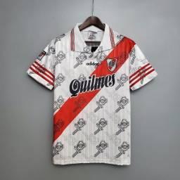 Camisa Retrô River Plate 1995-96 Home