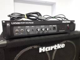 cabeçote amplificador para baixo Hartker LH 500 500W