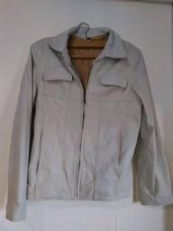 Jaqueta de couro legítimo CGC