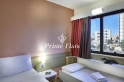 Título do anúncio: Flat para venda e investimento no Hotel Íbis Taubaté, com 1 dormitório e 1 vaga de garagem