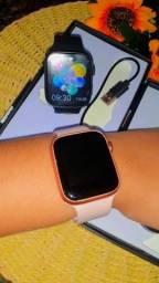 Título do anúncio: Smartwatch X7- Preto e Rosa