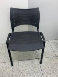 Título do anúncio: Kit 2 Cadeiras de Recepção Preta