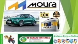 Título do anúncio: Bateria Moura pro seu Fiat TORO com Start Stop na Ki Barato Baterias