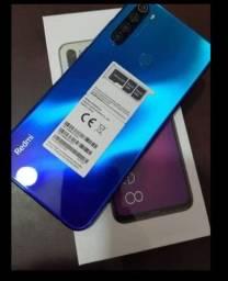 Xiaomi redmi note 8 na caixa