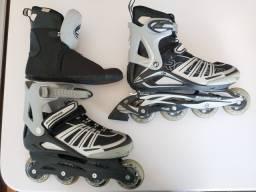 Título do anúncio: Patins Rollers Rollerblade Spiritblade Xr: 27cm 42eu 8uk 9us