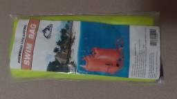 Bóia sinalizadora em PVC/Flutuadora com Bolsa Estanque #boia #flutuador #sinalizador