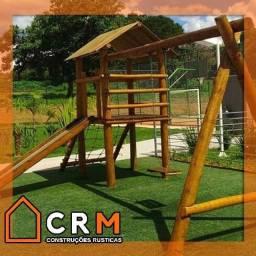 Título do anúncio: Playground casa do Tarzan