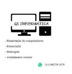 Título do anúncio: GS Informática