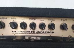Amplificador de contra baixo) Amplificador BX4500h + Gabinete Warwick 410
