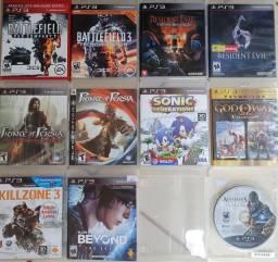 Título do anúncio: Jogos Para Playstation 3 Ps3 cds Originais