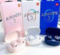 Título do anúncio: AirDots 3 e AirDots 3 Pro originais lacrados entrega grátis