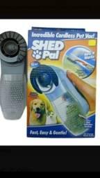 Título do anúncio: Escova Aspirador Sugador Retira Pelo Cachorro Gato Cão Pet