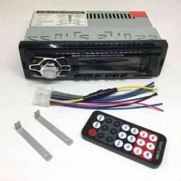 Título do anúncio: Rádio Automotivo MP3 Bluetooth SD USB FM com Controle