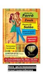 Título do anúncio: Aulas de forró, dança de salão e zouk