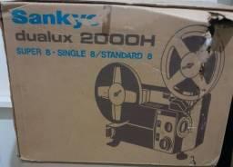 Título do anúncio: Projetor Super 9 sankyo dualux 2000H funcionando