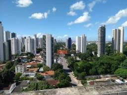 Flat com 1 dormitório para alugar, 43 m² por R$ 1.000,00/mês - Monteiro - Recife/PE