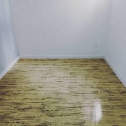 Instalação de piso laminado e vinílico