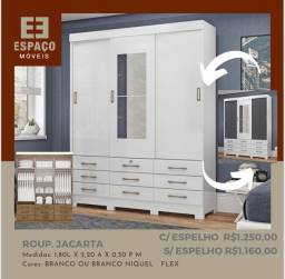 Título do anúncio: Guarda Roupas Jacarta Sem Espelho #Entrega e Montagem Grátis