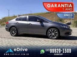 Título do anúncio: Honda Civic LXR 2.0 Flex Aut. 4p - 1 Ano de Garantia - Baixo KM - Único Dono - Novo - 2015