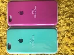 Case (aveludada) pra iPhone 6s, 7/8, 7/8 plus e 11