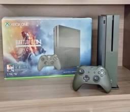 Título do anúncio: Xbox one s 1TB Batlefild na Caixa